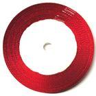 22,75m Satinband 25mm breit Farbe: Rot