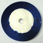 10 Rollen a 45m Satinband 3mm breit Farbe: Royalblau