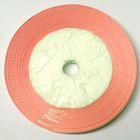 10 Rollen a 45m Satinband 3mm breit Farbe: Fleischfarben
