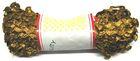 21,50m Zick-Zack-Borte Zackenlitze 5mm breit Farbe: Lurex-Gold