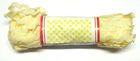 B-Ware!! 20m Zick-Zack-Borte Zackenlitze 5mm breit Farbe: Elfenbein