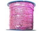 72m Paillettenband Cup 6mm breit Farbe: Rosè CHAN5-1/3-A9