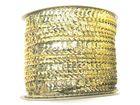 72m Paillettenband Cup 6mm breit Farbe: helles Gelb