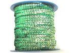 72m Paillettenband Cup 6mm breit Farbe: Hellgrün