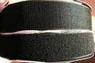 25m Klettband + 25m Flauschband 25mm breit Farbe: Schwarz