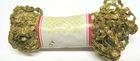 6 Päckchen Zick-Zack-Borte Zackenlitze 5mm breit Farbe: Lurex-Altgold