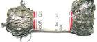 6 Päckchen Zick-Zack-Borte Zackenlitze 5mm breit Farbe Lurex-Silber
