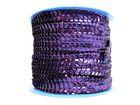 72m Paillettenband Cup 6mm breit Farbe: Sepia-dunkel CHAN5-1/3-M21