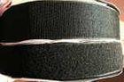 25m Klettband + 25m Flauschband 16mm breit Farbe: Schwarz