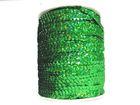 72m Paillettenband Cup 6mm breit Farbe: Grün-Laser