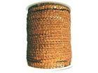 81m Paillettenband Cup 6mm breit Farbe: Kupfer-Laser JE31-50100