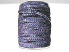 81m Paillettenband Cup 6mm breit Farbe: Black Diamond-Laser JE31-A40
