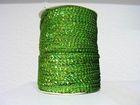 72m Paillettenband Cup 6mm breit Farbe: Hellgrün-Laser