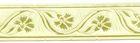 10m Mittelalter Borte Webband 16mm breit Farbe: creme
