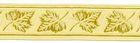 10m Mittelalter Borte Webband 16mm breit Farbe: Beige