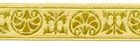 10m Jacquard Borte Stoffborte 16mm breit Farbe: Beige