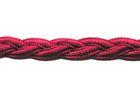 1m geflochtene Borte 1cm breit AA172-9 Farbe: Violett