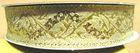 10m Brokat Borte Webband 16mm breit Farbe: Lurex-Gold