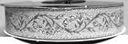 10m Brokat Borte Webband 16mm breit Farbe: Lurex-Silber