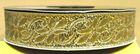 10m Mittelalter Borte Webband 16mm breit Farbe: Lurex-Gold