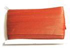 32m Satinschrägband 15mm breit 3-fach gefalzt Farbe: Kupfer