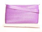 32m Satinschrägband 15mm breit 3-fach gefalzt Farbe: Flieder