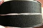 25m Klettband + 25m Flauschband 25mm selbstklebend Farbe: Schwarz