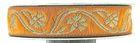10m Mittelalter Borte Webband 16mm breit Farbe: Orange-Gold