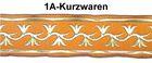 10m Mittelalter Borte Webband 35mm breit Farbe: Orange-Gold