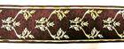 1m Mittelalter Borte Webband 70mm breit Farbe: in Bordeaux
