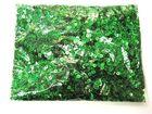 100 Gramm Pailletten 4mm laser Farbe: Grün plan