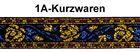 10m GoldBorte Webband bunt 20mm breit Farbe: Gold-Blau