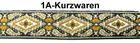 10m Mittelalter Borte Webband 60mm breit AF90-1