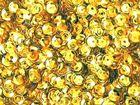 1 Gramm Pailletten 4mm Farbe: Gold AA345-0