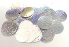 480 Gramm Pailletten-Geld Ø 12mm Farbe: Silber