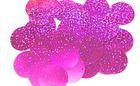 480 Gramm Pailletten-Geld Ø 30mm Farbe: Pink