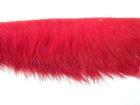 9m Pelzborte 10-15mm breit Farbe: Rot CTZ0389-Col.rot