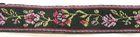 10m TrachtenBorte Webband BlumenBorte Webband 16mm breit