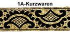 10m Mittelalter Borte Webband 35mm breit Farbe: Altgold