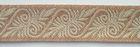 10m Mittelalter Borte Webband 20mm breit Farbe: Hellbraun-Beige U-12