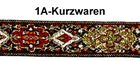 10m Mittelalter Borte Webband 20mm breit Farbe:  Rot-Grün-Gold