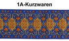 10m Mittelalter Borte Webband 20mm breit Farbe: Lurex-Silber-Orange-Blau