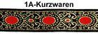 10m MittelalterBorte Webband 33mm breit Farbe: Lurexgold-Rot