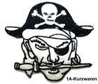 Pirat zum Aufbügeln 8,5 x 7,5 cm AA487-1