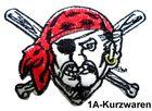 Pirat zum Aufbügeln 9,5 x 6,5 cm AA487-2