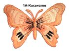 1 Applikation Patch Schmetterling Farbe: Fleischfarbend
