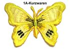 1 Applikation Patch Schmetterling Farbe: Gelb