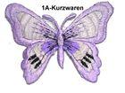 1 Applikation Patch Schmetterling Farbe: Flieder