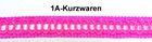 13,50m Posamentenborte 12mm breit Farbe: Pink MK0046-5