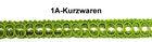 13,50m Posamentenborte 12mm breit Farbe: Zedergrün